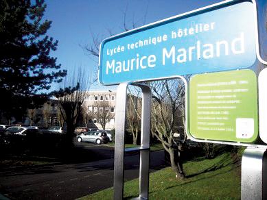 Lycée Hôtelier de Granville - Maurice Marland